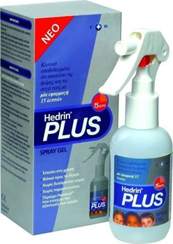 Picture of HEDRIN Plus Spray Gel 100ml