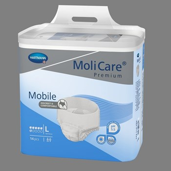 Picture of HARTMANN MoliCare Premium Mobile Extra Plus Μπλε (6 Σταγόνες) 14τμχ Large
