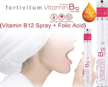 Picture of VITA VENTUS Fortivitum Vitamin B12 + Folic Acid Spray 13.5ml