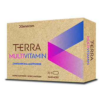 Picture of GENECOM Terra Multivitamin 30tabs