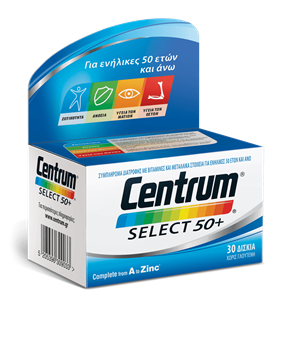 Picture of CENTRUM Select 50+ 30Tabs
