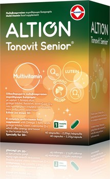 Picture of ALTION Tonovit Senior Multivitamin 40caps