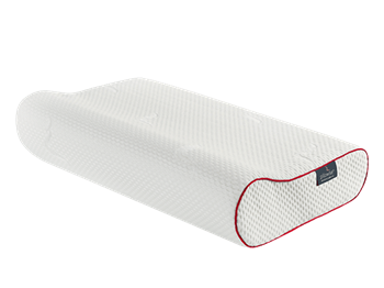 Picture of PILLOWISE Red Μαξιλάρι Ύπνου Memory Foam Ανατομικό Κόκκινο