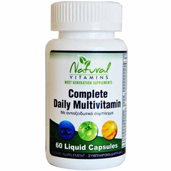 Picture of NATURAL VITAMINS Complete Daily Multivitamin 60caps