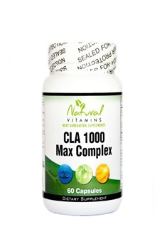 Picture of NATURAL VITAMINS CLA Formula 1000mg with Fish Oil  60 caps