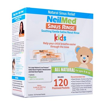 Picture of NEILMED Sinus Rinse Kids Pediatric Refill (120 ανταλλακτικοί φακελίσκοι)