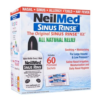 Picture of NEILMED Sinus Rinse Kit 60 (1 φιάλη & 60 φακελίσκοι)