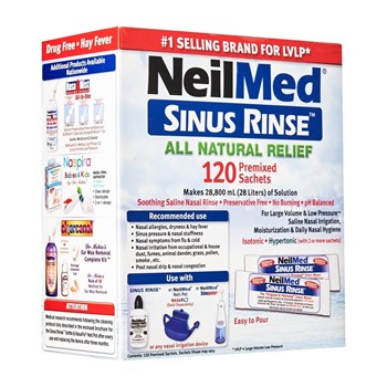 Picture of NEILMED Sinus Rinse Refill (120 ανταλλακτικοί φακελίσκοι)