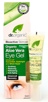 Picture of DR.ORGANIC Organic Aloe Vera Eye Gel 15ml