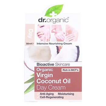 Picture of Dr. Organic Organic Virgin Coconut Oil Day Cream 50ml Ενυδατική Κρέμα Ημέρας 'Ελαιο Καρύδας