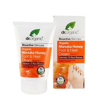 Picture of Dr .Organic Manuka Honey Foot and Heel Cream 125 ml