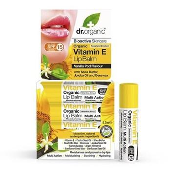 Picture of Dr.Organic Vitamin E Lip Balm 5.7ml