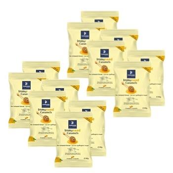 Picture of Myelements IMMUNEED CARAMELS DISPLAY 12x60gr MyElements Immuneed Caramels Καραμέλες για τον Ερεθισμένο Λαιμό, με ευχάριστη γεύση Μελιού & Μέντας