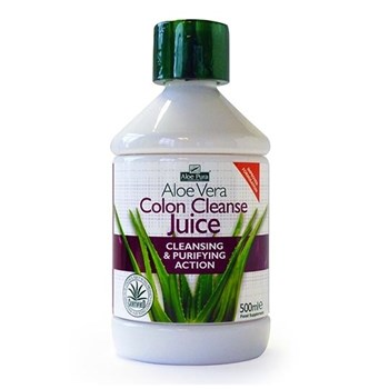 Picture of OPTIMA AloePura Colon Cleanse Juice Cleansing & Purifying Action 500ml