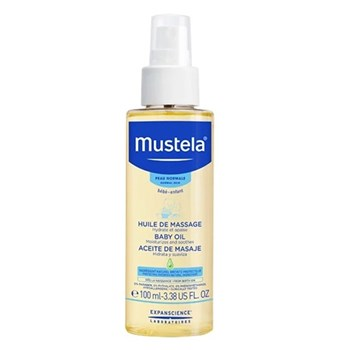 Picture of MUSTELA Baby Oil 100ml Λάδι για μασάζ