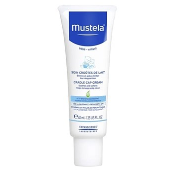 Picture of MUSTELA Cradle Cap Cream 40ml Κρέμα για τη Νινίδα