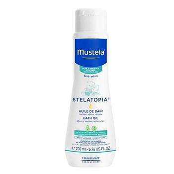 Picture of MUSTELA STELATOPIA Bath Oil 200ml Λάδι μπάνιου για ατοπικό δέρμα