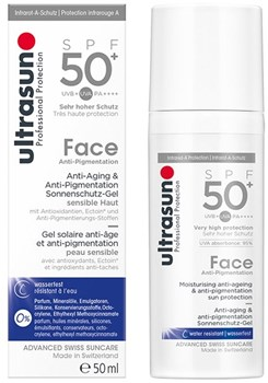 Picture of Ultrasun Professional Protection Face Anti-age & Anti-pigmentation SPF50 50ml