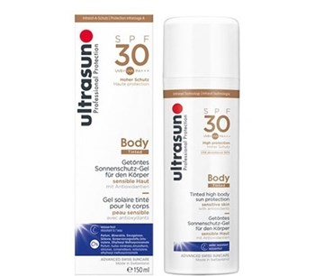 Picture of Ultrasun Professional Protection Body Cream Tinted Honey SPF30 150ml