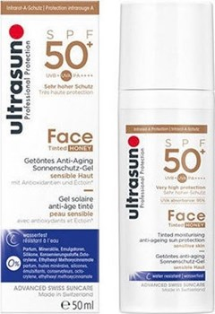 Picture of Ultrasun Professional Protection Face Cream Tinted Honey SPF50 50ml