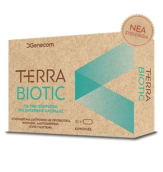Picture of GENECOM Terra Biotic 10tabs