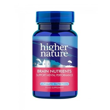 Picture of Higher Nature Brain Nutrients 90 ταμπλέτες