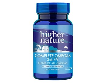 Picture of Higher Nature Complete Omegas 3:6:7:9 90 κάψουλες