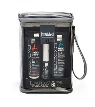 Picture of Intermed Luxurious Men's Care Travel Kit 1τμχ Πρακτικό Σετ Ταξιδιού 5 προϊόντων για ολοκληρωμένη ανδρική φροντίδα