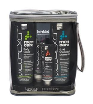 Picture of Intermed Luxurious Men's Care Essentials Kit 1τμχ Ολοκληρωμένο Σετ Αντρικής Περιποίησης 4 Προιόντων