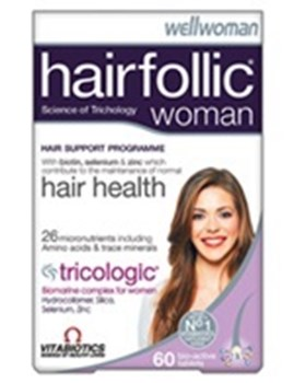 Picture of VITABIOTICS HAIRFOLLIC WOMAN 60tabs
