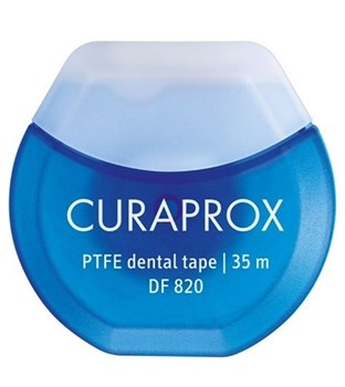 Picture of Curaprox DF 820 PTFE Dental Tape Μεσοδόντια Οδοντική Ταινία 35m
