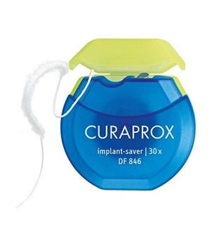 Picture of Curaprox DF 846 Implant Saver Οδοντικό Νήμα για Εμφυτεύματα 30 νήματα