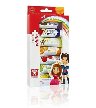 Picture of Edel White For Kids 7 x 9.45ml Παιδικές Οδοντόκρεμες με Φθόριο σε 7 γεύσεις