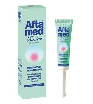 Picture of AFTAMED Junior Gel 15 ml Αντιμετώπιση κατά των στοματικών ελκών άφθες