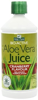 Picture of OPTIMA Aloe Vera Juice with Cranberry 1000ml