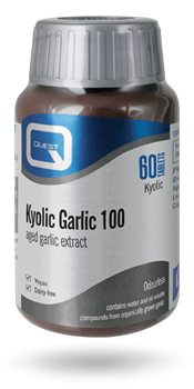 Picture of QUEST KYOLIC GARLIC 600 MG 60 TABS EXTRACT