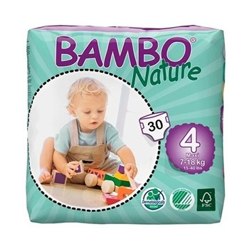 Picture of Πάνα Bambo Nature Maxi (7-18kg)  Tall Pack Συσκευασία 60 Τεμαχίων