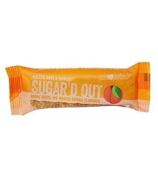Picture of Ma Baker Sugar'd Out Μπάρα βρώμης Βερίκοκο 50gr Χωρίς ζάχαρη