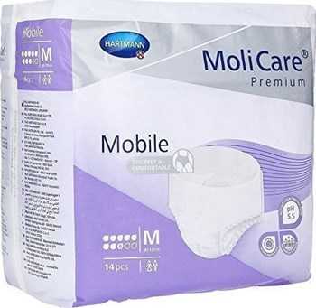 Picture of HARTMANN MoliCare Mobile Super Plus (8 Σταγόνες) 14τμχ  Medium