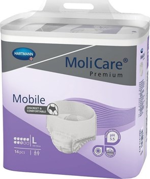 Picture of HARTMANN MoliCare Mobile Super Plus (8 Σταγόνες) 14τμχ Large