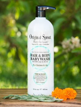 Picture of ORIGINAL SPROUT Hair & Body Babywash 975ml