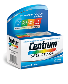 Picture of CENTRUM Select 50+ 60Tabs