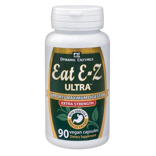 Picture of DYNAMIC ENZYMES Eat E-Z Ultra 90Veg.Caps
