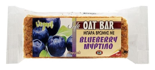 Picture of CAPTAIN QUICK Soft Oat Bar Μύρτιλο (blueberry) Flapjack 90gr