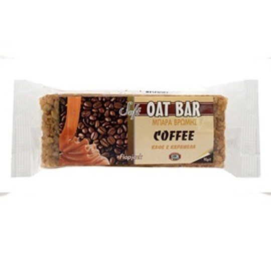 Picture of CAPTAIN QUICK Soft Oat Bar Καφέ & Καραμέλα Flapjack 90gr