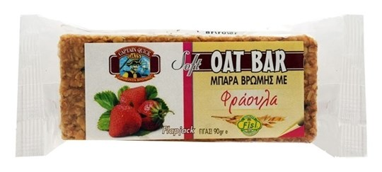 Picture of CAPTAIN QUICK Summer Oat Bar Φράουλα Flapjack 90gr