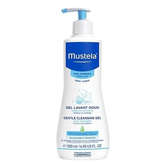 Picture of MUSTELA GENTLE CLEANSING GEL Απαλό αφροντούς για σώμα & μαλλιά 500ml