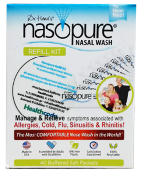Picture of NASOPURE® Nasal Wash Refill Kit