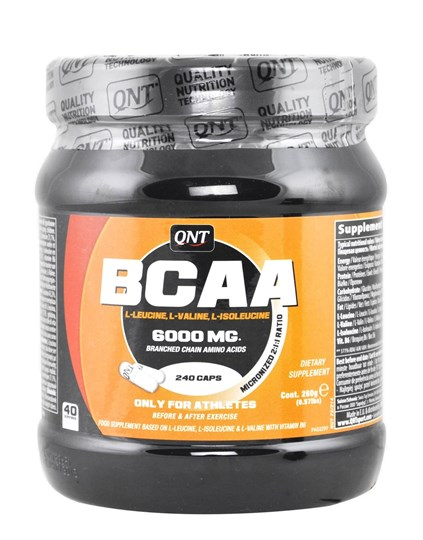 Picture of QNT BCAA 6000  1000mg (2:1:1) 240caps