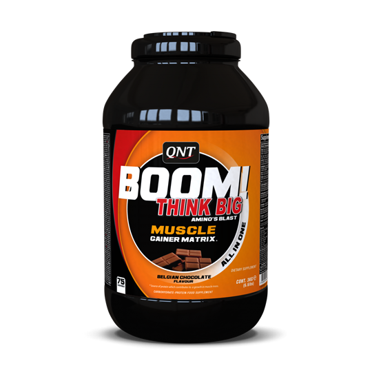 Picture of QNT Boom Muscle Gainer Milk Chocolate 3kg